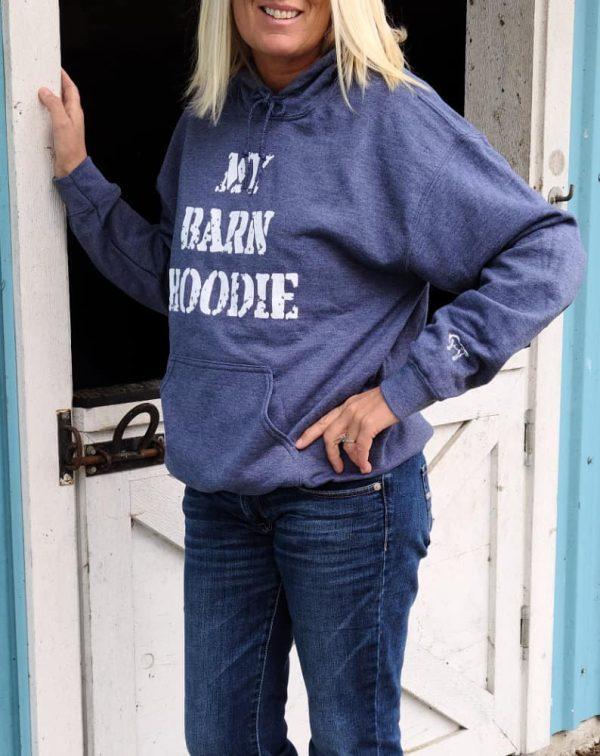 My Barn Hoodie - Ash Navy