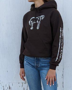 Pullover Hoodie - Chocolate Brown