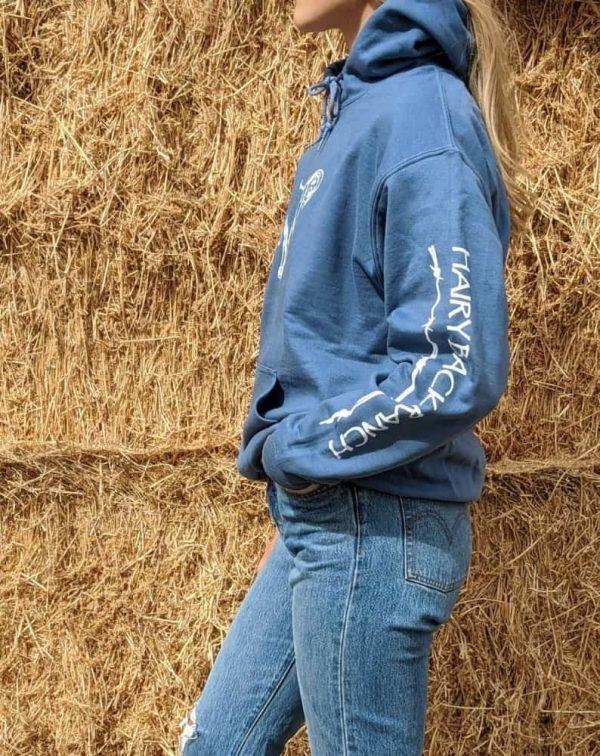 Pullover Hoodie - Indigo Blue