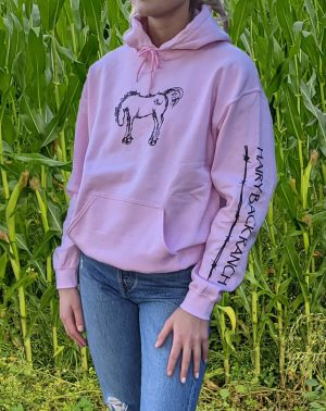 Pullover Hoodie - Light Pink