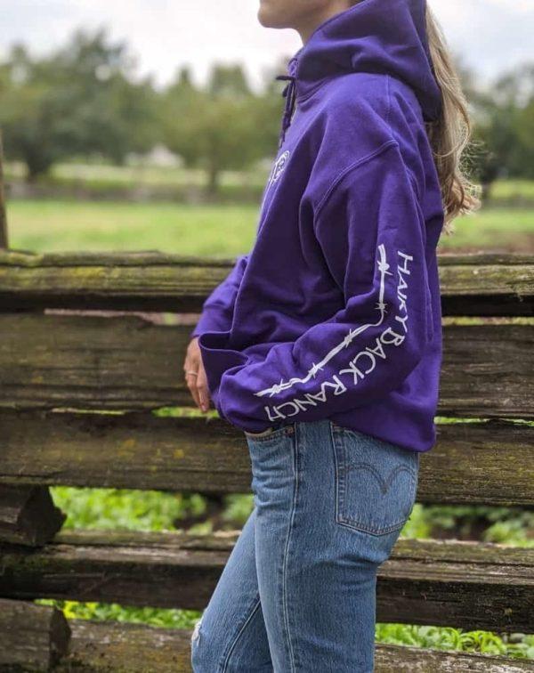 Pullover Hoodie - Purple
