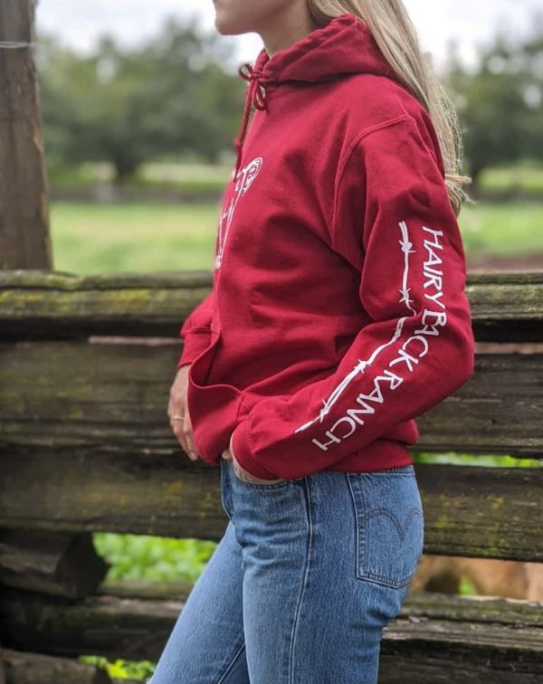 Pullover Hoodie - Red