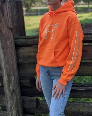 Pullover Hoodie - Safety Orange