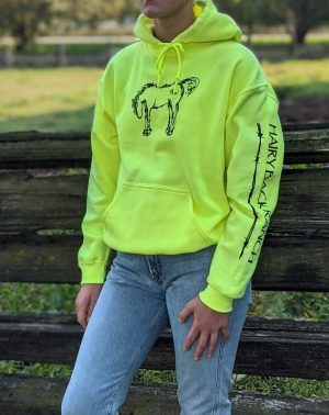 Pullover Hoodie - Safety Yellow