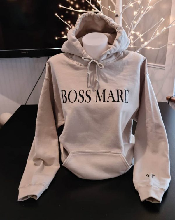 Pullover Hoodie – Boss Mare Sand