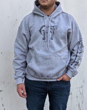 Pullover Hoodie - Sport Grey