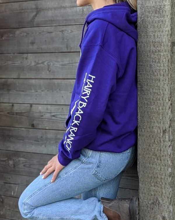 Zip Up Hoodie - Purple