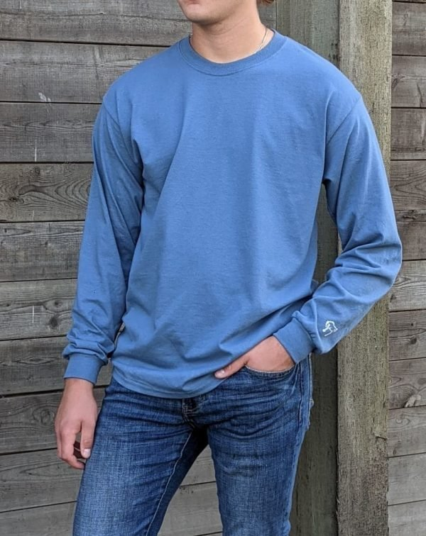 Long Sleeve Tee - Indigo Blue