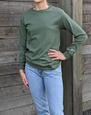 Long Sleeve Tee - Military Green