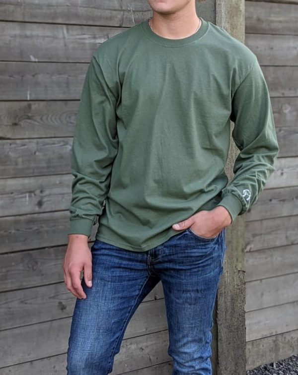 Long Sleeve Tee - Military Green