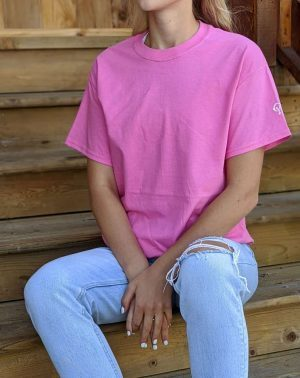 Short Sleeve Tee - Safety Pink