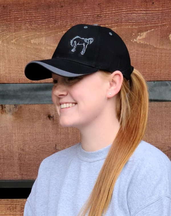 Two Toned Logo Hat - Black/Charcoal