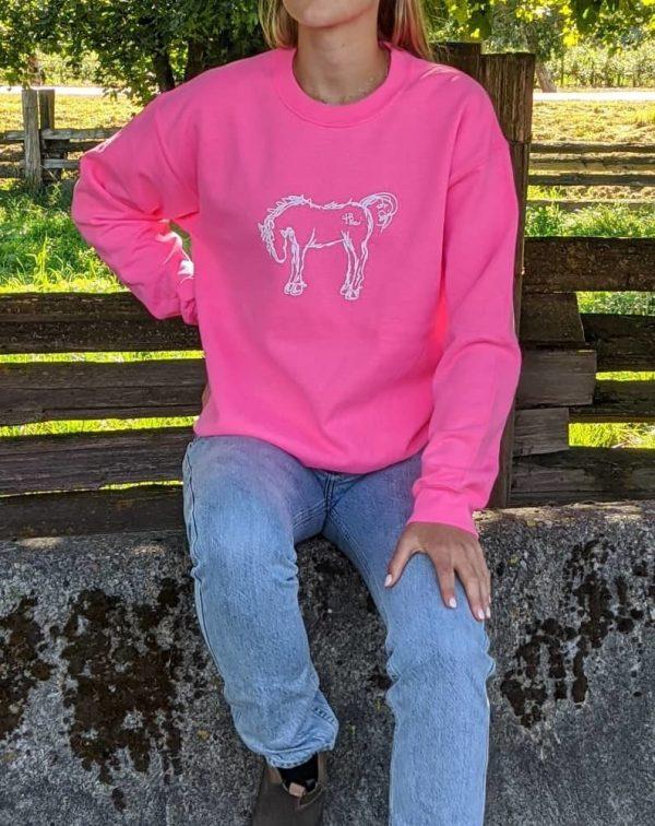 Original Crewneck - Safety Pink