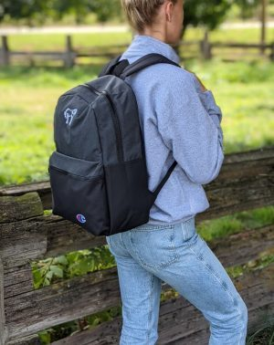 Champion Backpack – Dark Heather / Black