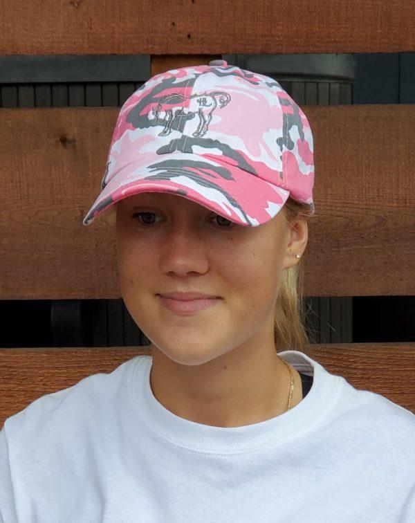 HBR Pink Camo Hat